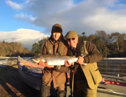 Årets första laxar är fångade!! First salmon of 2016!