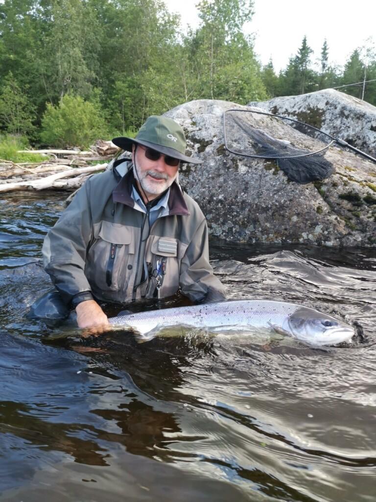 Orkla fishing