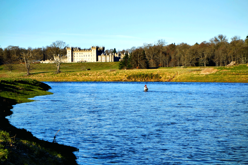 Opening days on the river Tweed 2016