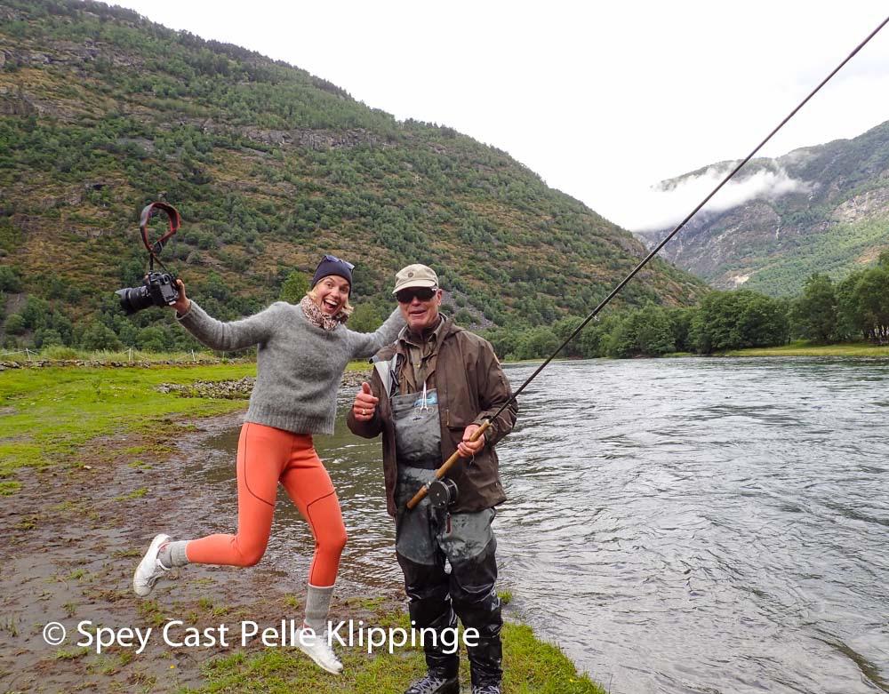 Laerdal salmon fishing